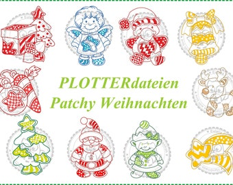 Plotter Files Patchy Christmas