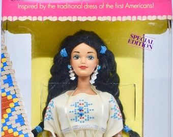 Second Edition Special Edition Native American Barbie NRFB