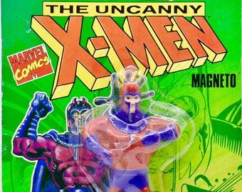 "Uncanny X-Men Wolverine BendEms figure 6/"" New on Card Sealed1991 Marvel JusToys"