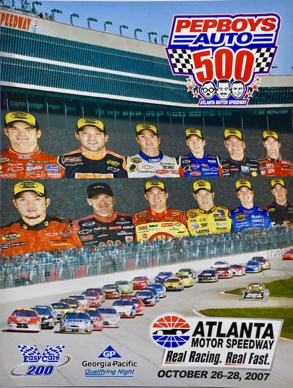 2007 NASCAR Atlanta Motor Speedway Pep Boys Auto 500