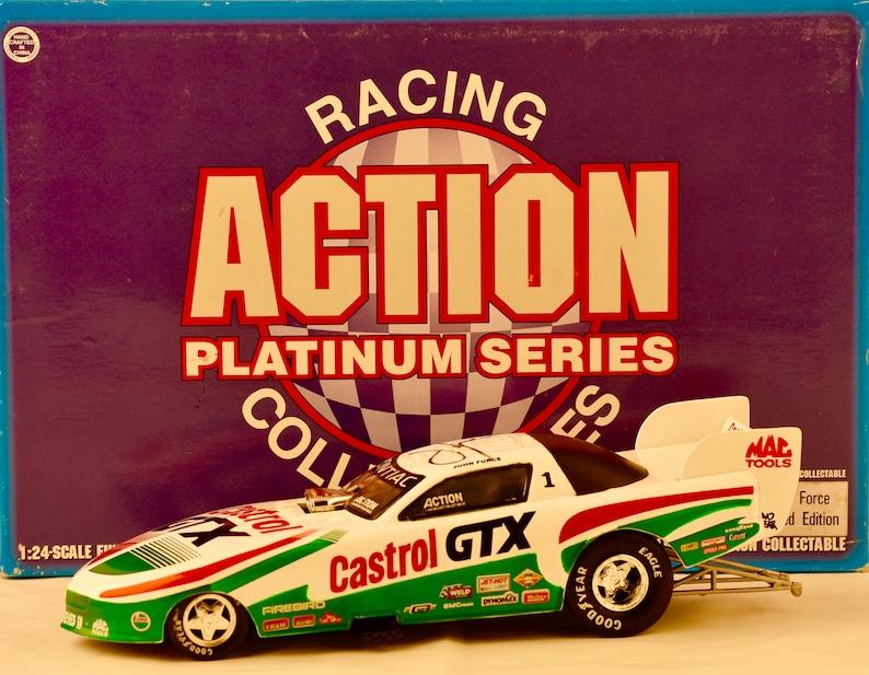 1997 Action Platinum Series Nhra John Force Signed Etsy