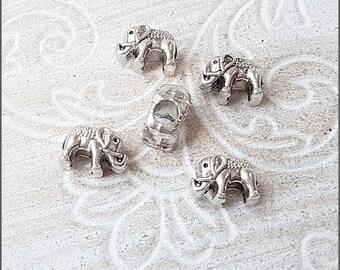 5 Stück Anhänger Cubic Zirconia Strass 6x4x2mm TOP rose gold platin