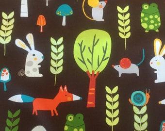 Creatures & Critters 3 - Forest Friends - Park - Amy Schimler for Robert Kaufman Fabrics
