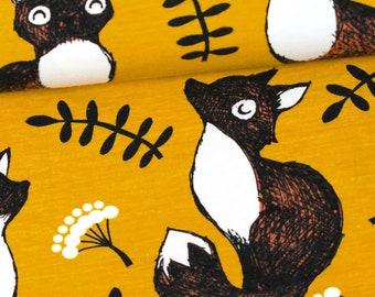Organic Cotton Knit Paappii - Nuutti organic jersey, ochre / rust