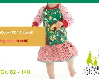 RaglanShirt/Kleid - Madame Jordan eBook Gr.62 -140