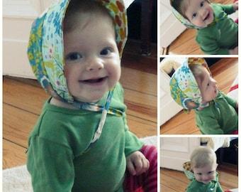 Sommermütze - Bonnet zum Wenden