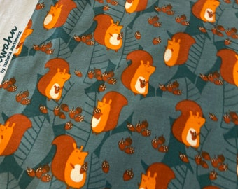 Organic Cotton Knit - Lillestoff Squirrel - Izabella Markiewicz / Maedchenwahn