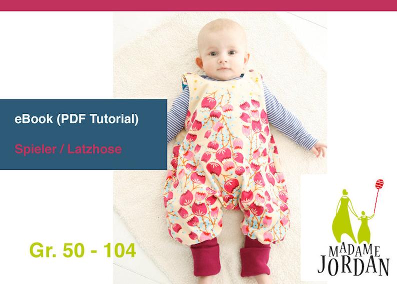 Spieler/Strampler  Madame Jordan eBook Gr. 50-104 image 0