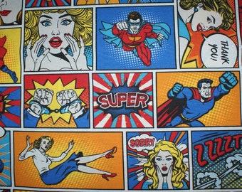 Karikatur Sex-Superhelden