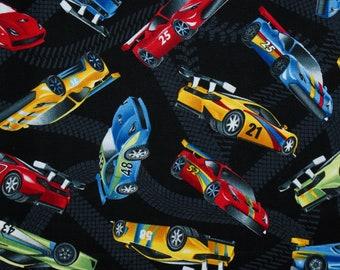 Autos Rennautos Autorennen  Traffic jam   Baumwolle  Patchworkstoff