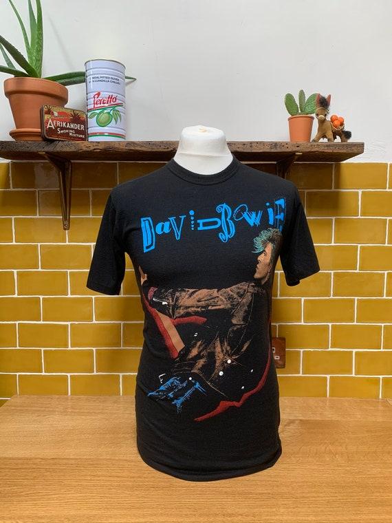 1987 David Bowie Glass Spider Tour shirt