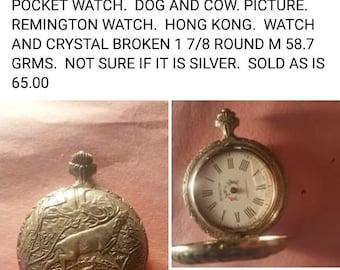 4392f0189 Pocket watch antique Remington