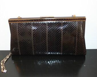af927e32be04d 50er jahre krokodil handtasche