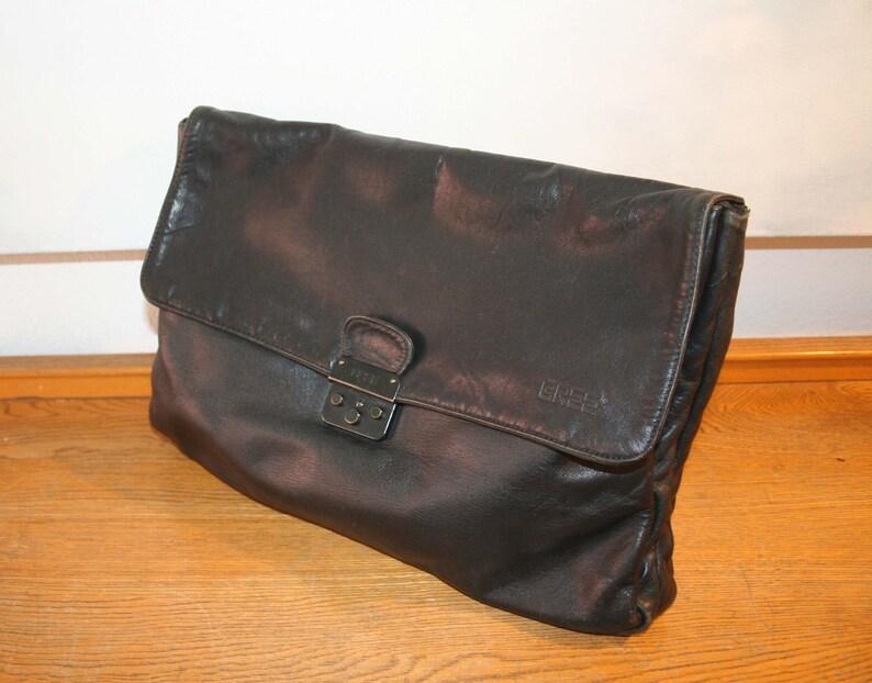 54387b91ceeaf1 BREE Tasche große Leder Aktentasche Mappe 100 % Original   Etsy