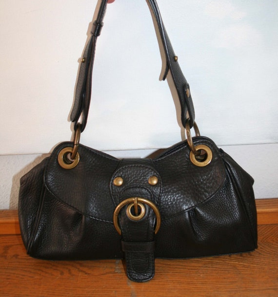 shades of discount sale wholesale sales Coccinelle Bag, casual Handbag, Shopper, Leather black 100% Original