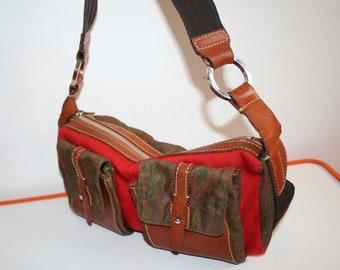 Etro bag, autumnal beautiful vintage handbag, shoulder bag, 100% original