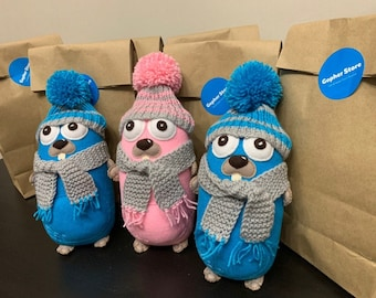 Golang Gopher Toy gopher  Gift golang develope