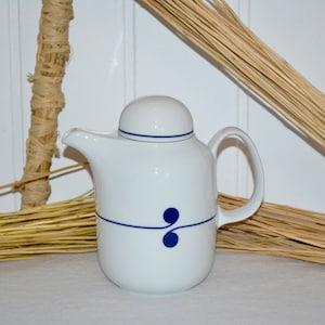 Vintage Kaffeecanne HutschenreutherSissi Azberg  Porzellen West Germany Coffee Pot