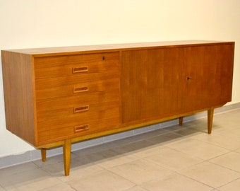 Sideboard 60 70s Cult Design Closet Chest Of Drawers Mid Etsy