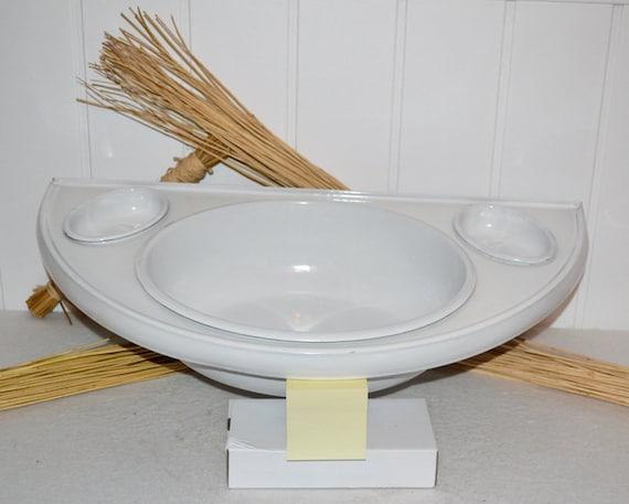 Rustikaler Emaille Waschtisch Waschbecken Um 1930 Enamel Etsy