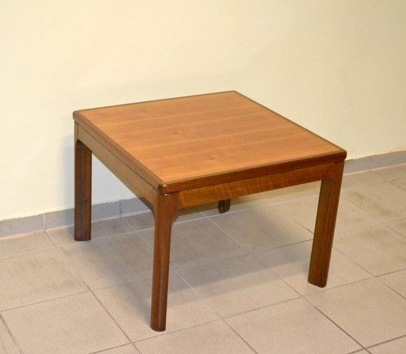Opal Clubtisch Nussbaum 60er 70er Design Coffee Table Tisch Etsy