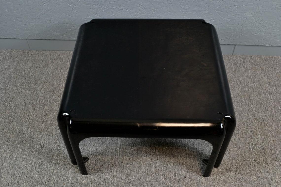 Magistretti Side Table for Metra 60s 70s Model Elena Italy Vintage Design Table Retro Bohemian Space Lounge