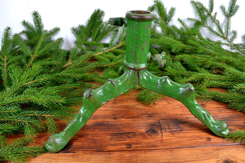 Christmas tree stand cast iron Christmas tree stands Christmas tree shabby Xmas 1900 Christmas tree stand Christmas Art Nouveau cast iron