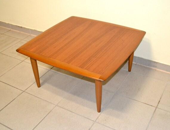Coffee Table Clubtisch Beistelltisch Danish Teak Tisch Design Etsy