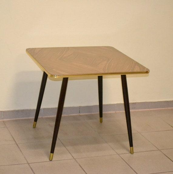 Cocktailtisch 50er 60er Rockabilly Tisch Beistelltisch Design Etsy