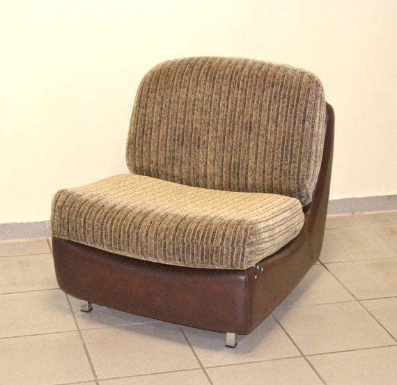 70s Lounge Armchair Ddr Loft Rock Vintage Easy Chair Armchair Etsy