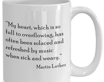Music Quotes Music Coffee Mug Jane Austen Etsy