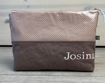 Culture Bag OilCloth & Canvas Josina