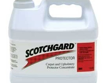 Scotchgard Carpet and Upholstery Protector Concentrate (3M brand, 1 gallon)