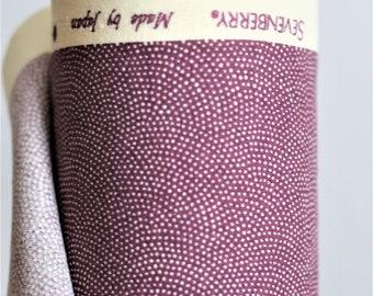 japan fabric SAMEKOMON shark skin cotton / japan traditional / mauve (17.80 EUR/meter)