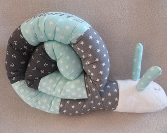 Puck snail incl. name storage cushion, nests