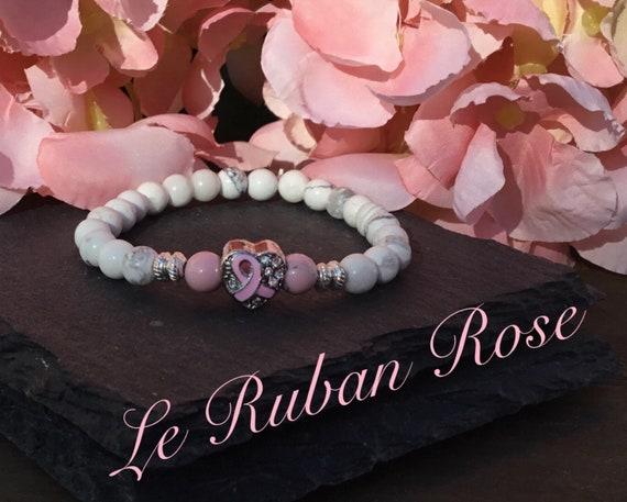 charm pandora ruban rose