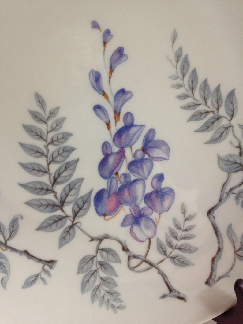 Castleton China Wisteria Dinner Plate 1951  Made in USA