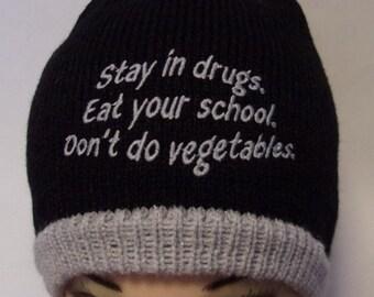 86036f0993d Funny knit hat