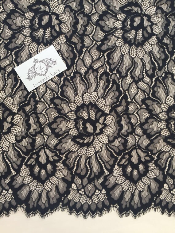 Dresses Lace Wedding Lace Embroidered lace Bridal lace Veil lace Lingerie Lace Alencon Lace 10Colors Alencon lace fabric French Lace