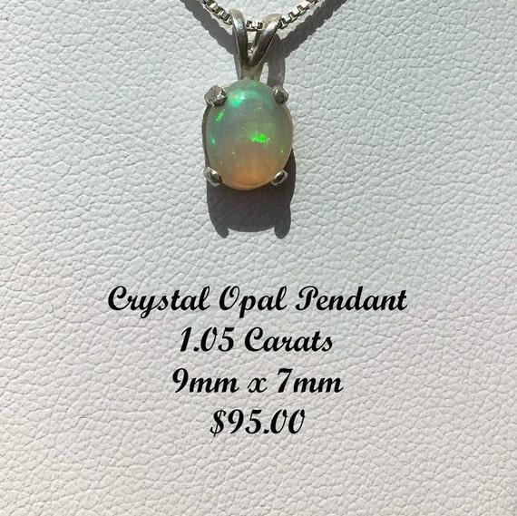 Beautiful Opal Pendant 1