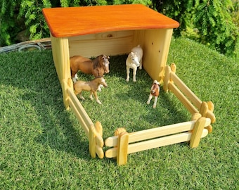 Stable with 3 fences