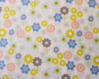 Cotton Fabric Flower Meadow