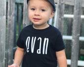 Name Shirt, Custom Name Shirt, Baby, Toddler, Customize