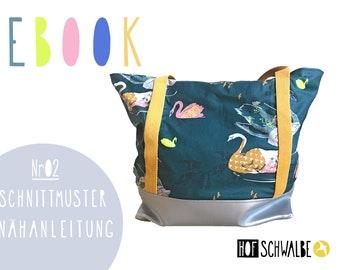 Ebook - Shopper - Nähanleitung & Schnittmuster