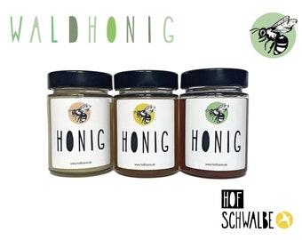 Waldhonig, Deutscher Honig aus der HOFBiene Imkerei