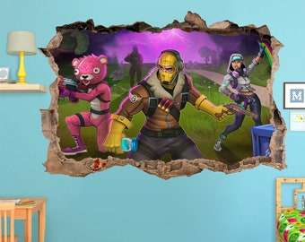 Fortnite Wall Decal Etsy