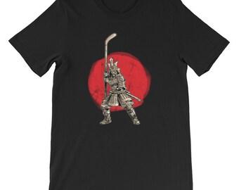 e0de6bc4 Samurai Warrior Hockey Goalie Strikers Tshirt