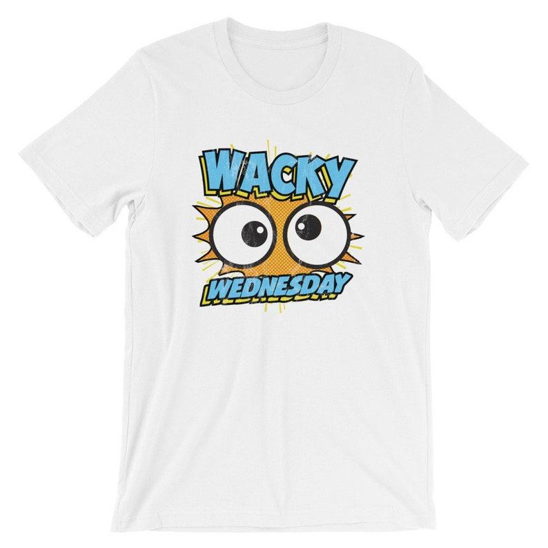 95af530b70ff Wacky Wednesday Googly Eyes Silly Tshirt Comic Style Kids   Etsy