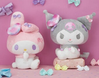 Sanrio My Melody Kuromi stuffed Soft Plush 22cm big porch