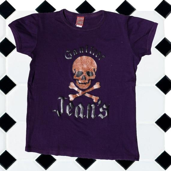 Vintage Jean Paul Gaultier skull t-shirt